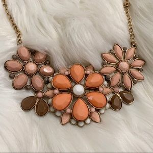 NECKLACE Floral Collar Vintage Style Jewelry